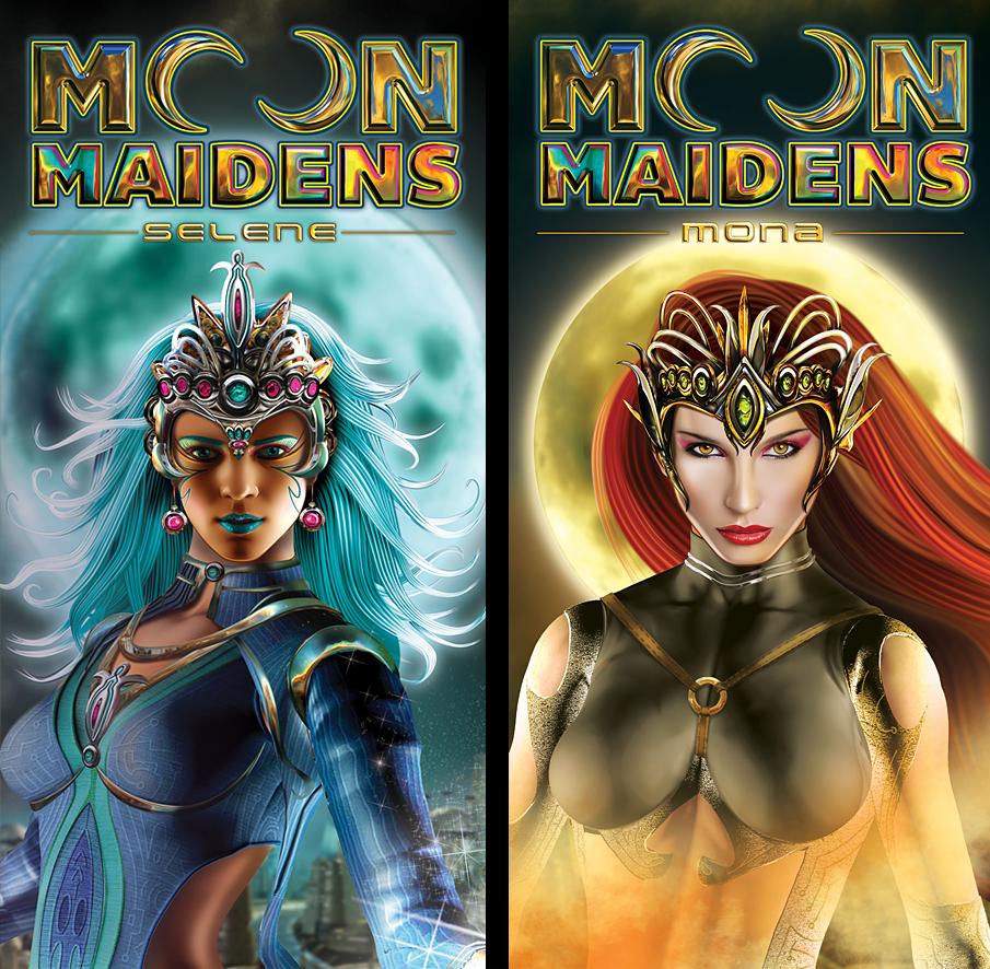 Moon Maidens Slot Machine