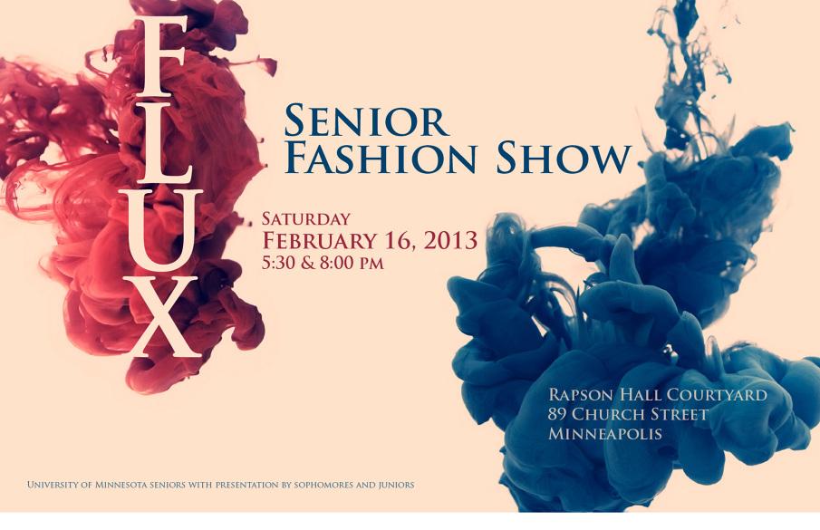 Flux Fashion Show 2013 - Sarah Windisch\'s Portfolio