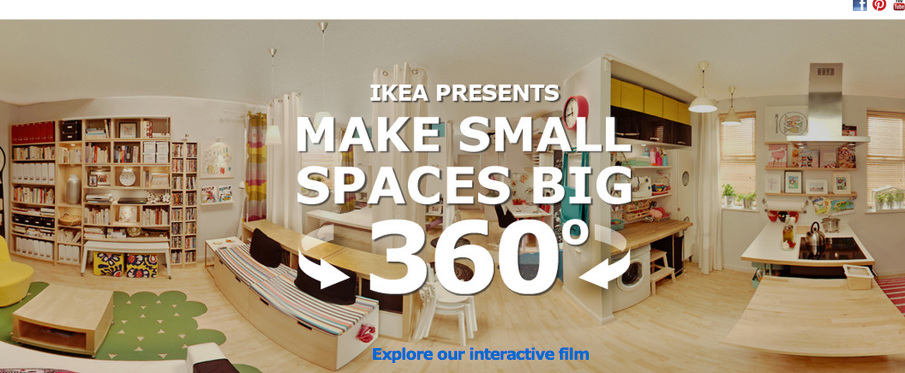 IKEA PRESENTS Make Small Spaces Big 360° - Marie Knowles - Digital ...